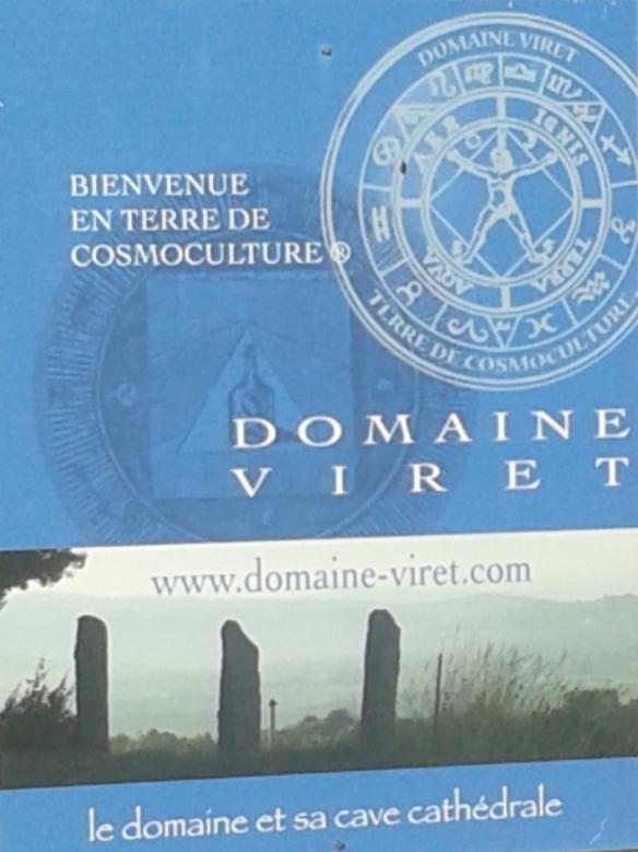 """""""vin Biodynamie"""" """"cosmoculture"""""""