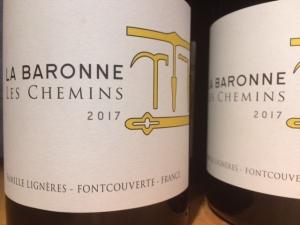 """vin biodynamie"" ""le comptoir gourmand "" "" Chateau la Baronne"""